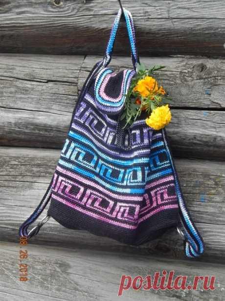 До свидания,лето,до свидания! из категории Совместник, рюкзак – Вязаные идеи, идеи для вязания