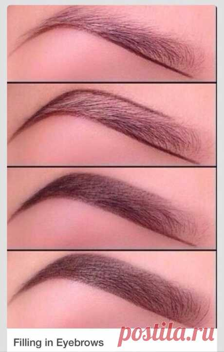 Pin by Марина Б. on Брови | Eyebrow, Makeup and Makeup ideas