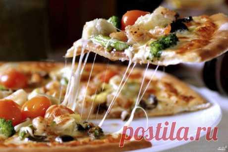 Тонкое тесто для пиццы - пошаговый рецепт с фото на Повар.ру
