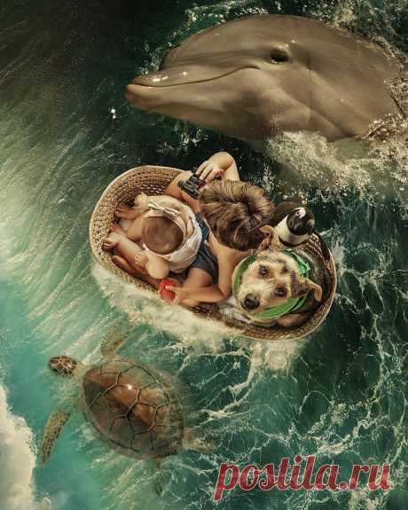 Сказочный мир в фотоработах Марселя ван Льюита « FotoRelax