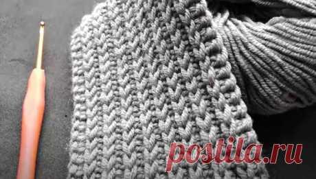 Самая пышная резинка крючком. Невероятно просто и красиво! (Вязание спицами) – Журнал Вдохновение Рукодельницы