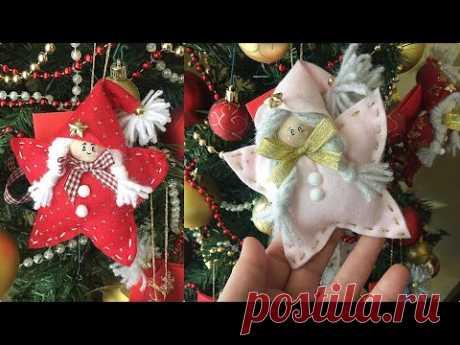 Tutorial FACILISSIMO  how to make  easy Christmas decorations