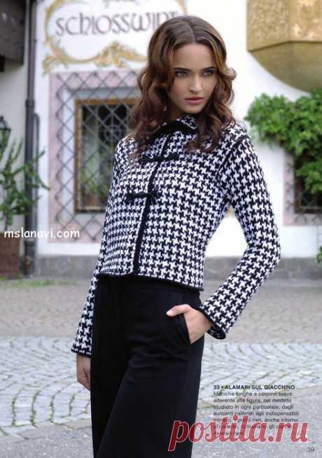 La chaqueta tejida en el estilo Chanel | Tejemos con Lana Vi