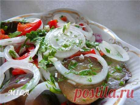 Быстрый рецепт маринованных баклажанов (Изумительные баклажаны и отличный вкус!!!))).