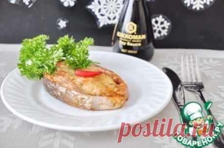 Кольца из лосося с шампиньонами - кулинарный рецепт