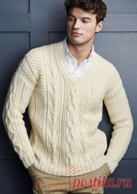 Мужской пуловер «Compton» | DAMские PALьчики. ru