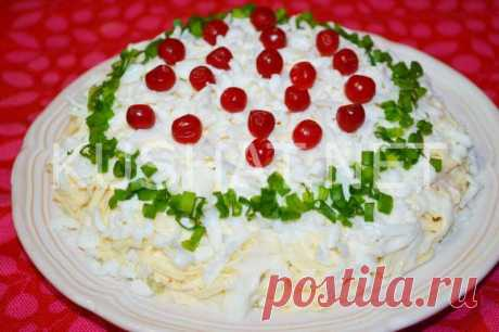 Салат «Грибы под шубой». Пошаговый рецепт с фото • Кушать нет