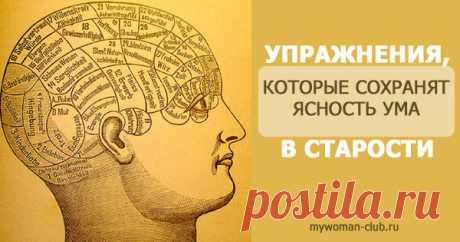Для тренировки ума: 4 замечательных упражнения |