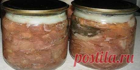 Домашняя тушенка своими руками. Быстро, легко и очень ВКУСНО!!!  Немного старания, и вы получите вкусное, сочное и аппетитное мясо, приготовленное своими руками.