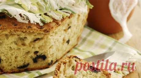 Кипрский оливковый хлеб, пошаговый рецепт с фото