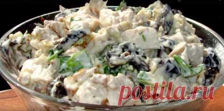 Салат с курицей «Очарование» / Простые рецепты
