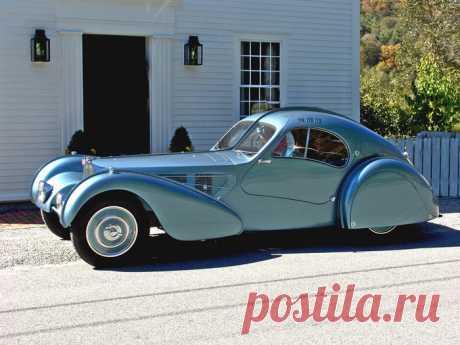 5 раритетных автомобилей, каждый из которых стоит больше, чем самолет  Bugatti Type 57SC Atlantic