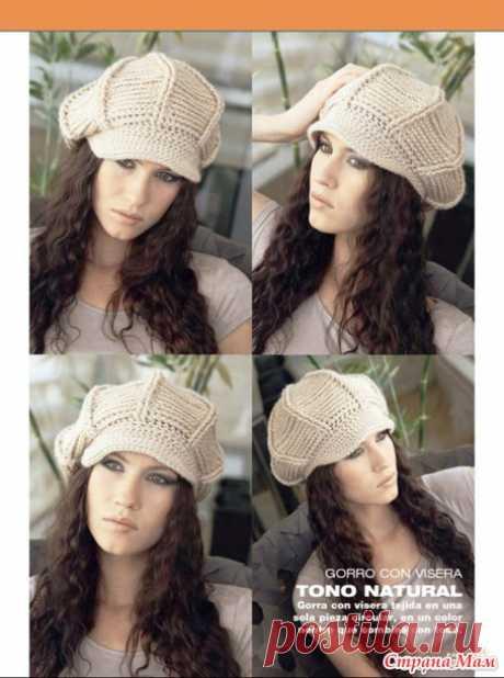Моя подборка шапочек со схемами - Страна Мам
