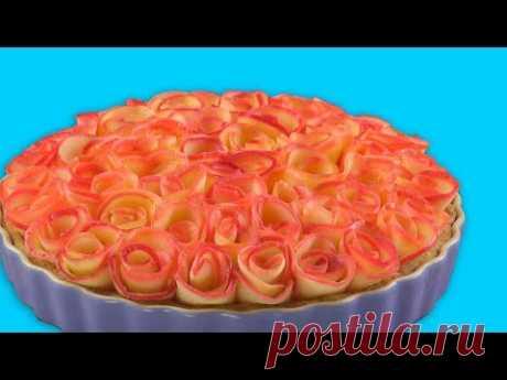 El pastel Con las Rosas de las Manzanas: la Receta Simplísima del Postre Lujoso