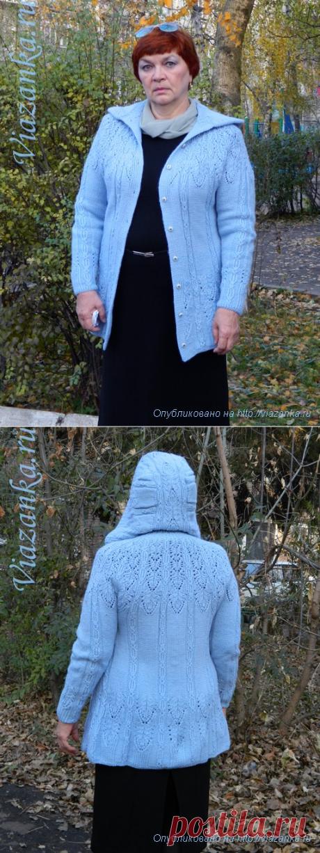 Кардиган с капюшоном | Viazanka.ru