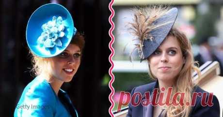 На королевском стиле: «безумные» шляпки принцессы Беатрисы, одной из внучек Елизаветы II . Милая Я