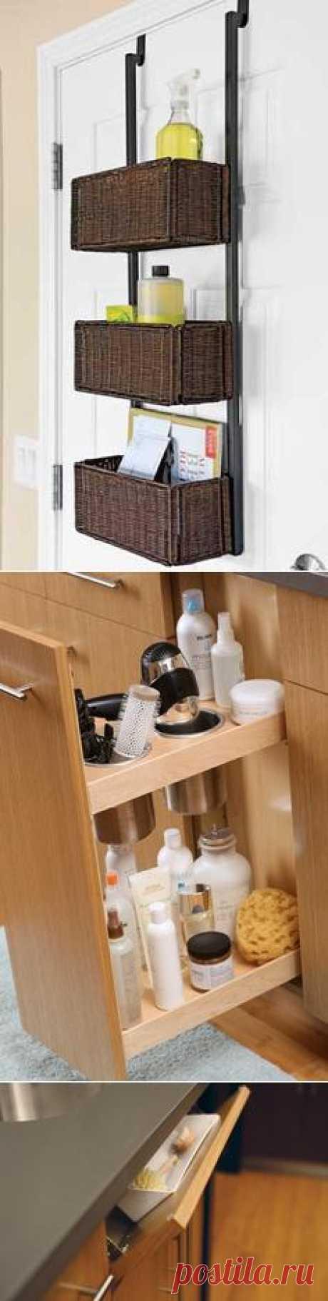Аккуратное хранение мелочёвки - Приспособления для дома..