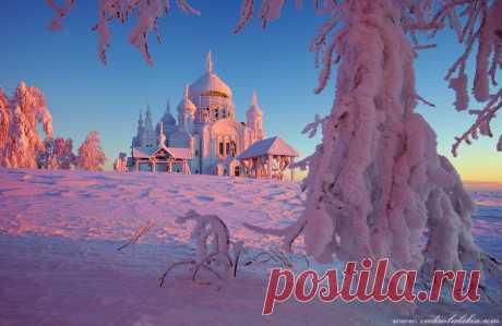 Зимняя сказка Белогорского монастыря.