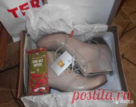 Женские демисезонные ботинки. Натуральная кожа купить в Москве