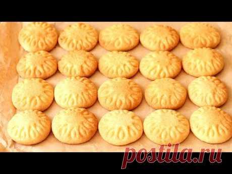 Самое ПРОСТОЕ ПЕСОЧНОЕ Печенье🌼Легкий Рецепт Вкусного ПЕЧЕНЬЯ. Как БЫСТРО украсить печенье. Cookies