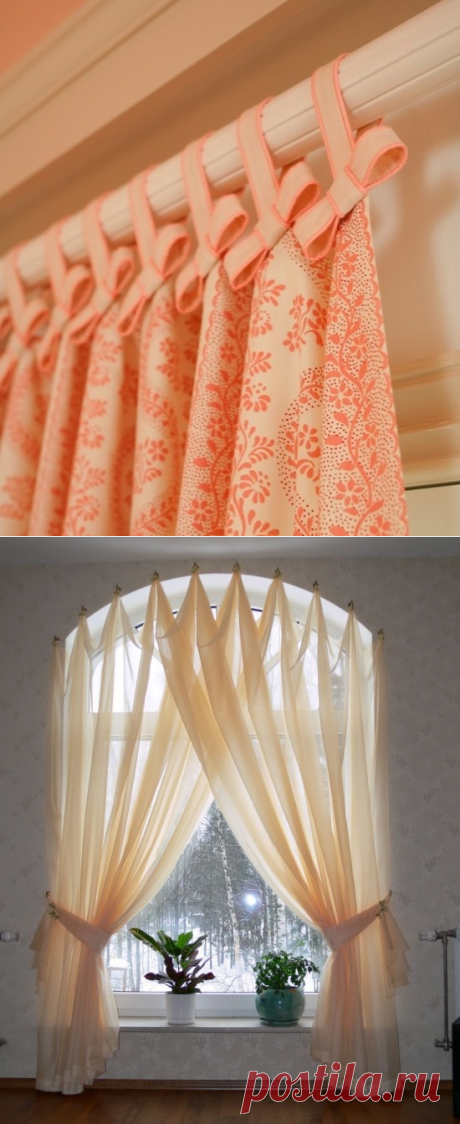 35 IDEAS FOR REGISTRATION OF THE WINDOW CURTAINS