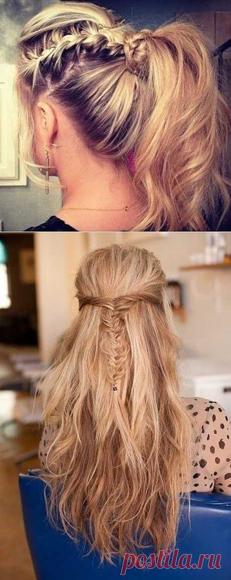 Two ideas for braids \/ Hairdress \/ the Fashionable website about stylish alteration of clothes and an interior