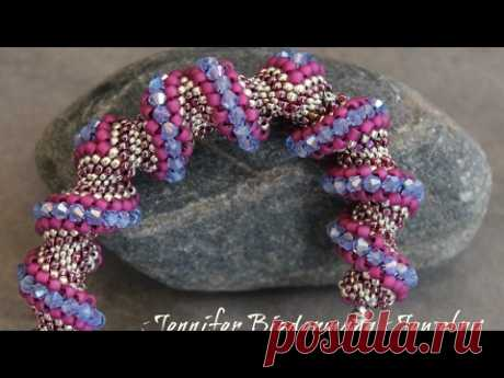 Celini zig zag tubular bracelet tutorial
