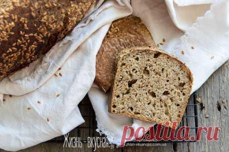 Бездрожжевой хлеб: быстрый, простой, незатейливый - Жизнь - вкусная!