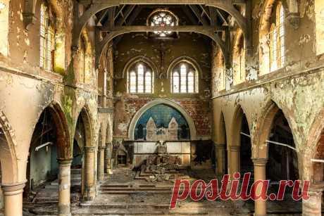 Las iglesias lanzadas