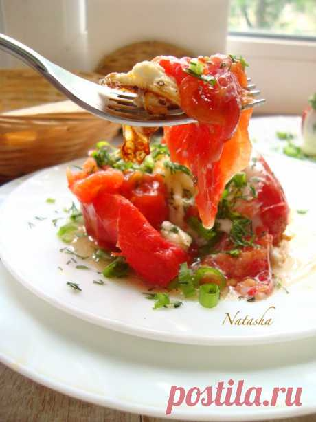 Яичница в помидоре-завтрак пошаговый рецепт с фотографиями