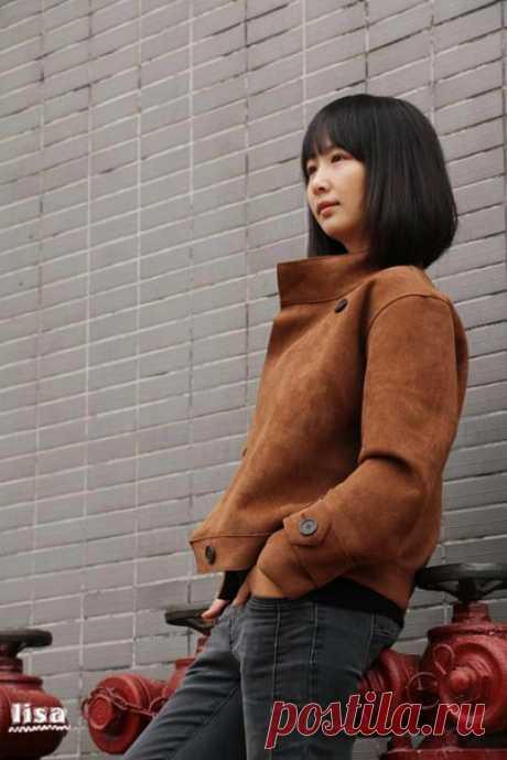 Курточка   #верхняя_одежда  © Кройка и шитьё