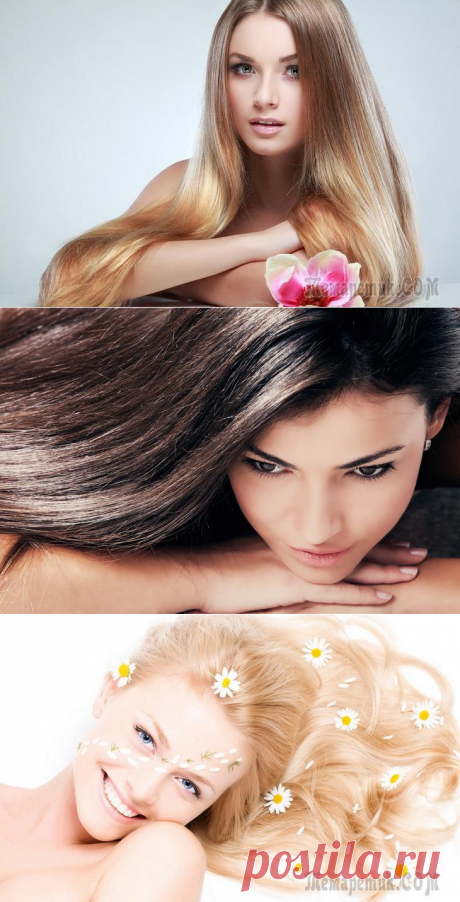 Top-8 natural dyes for hair