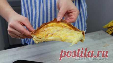 Что будет если тесто для блинов запечь? Финский блинный пирог