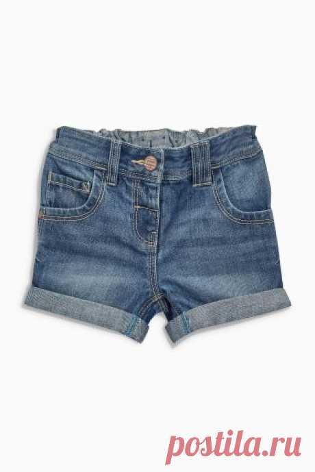 Купить Джинсовые шорты (3 мес.-6 лет) - Покупайте прямо сейчас на сайте Next: Россия