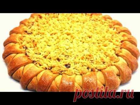 🔴Тертый пирог с вареньем Raspberry Jam Shortbread Tart