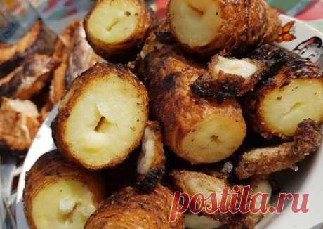 Шашлыки-картошечка - пошаговый рецепт с фото. Автор рецепта Олеся . - Cookpad