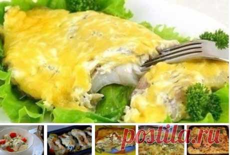 Запекаем РЫБУ. ТОП-6 рецептов! Так вкусно рыбу вы еще не готовили! 1. Обалденная вкусная запеканка картофельная с рыбкой. Получается изумительная хрустящая сырная корочка! И рыбка, и картошка в сливках со специями приобретают нежный пикантный вкус! Быстро, легко и вкусно!