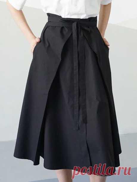 Юбки-наволочки (подборка) Модная одежда и дизайн интерьера своими руками