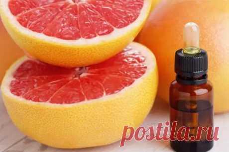 Чем полезно эфирное масло грейпфрута - Народная медицина - медиаплатформа МирТесен