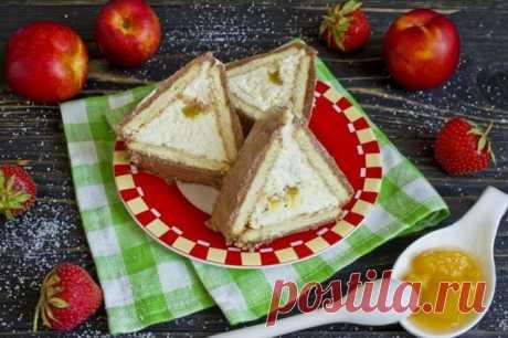 Торт без выпечки «Шалаш». Пошаговый рецепт с фото — Ботаничка.ru