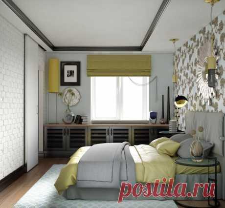 Дизайн спальни в хрущевке (60 фото)