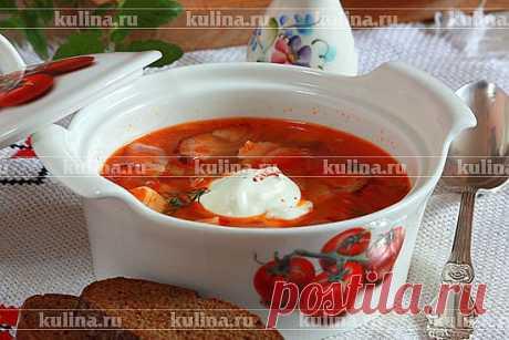 Солянка с курицей и охотничьими колбасками – рецепт приготовления с фото от Kulina.Ru