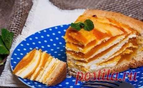 Тыквенный пирог — Sloosh – кулинарные рецепты