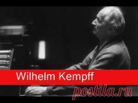 Wilhelm Kempff: Gluck, 'La Plainte d'Orphée' - YouTube