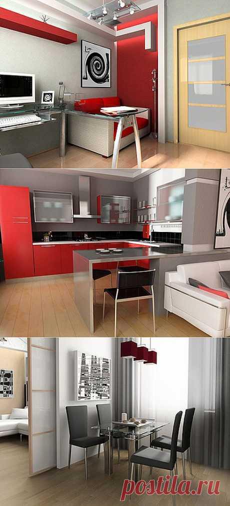 Как ужиться в одной комнате: зонирование квартиры | МОЯ КВАРТИРА