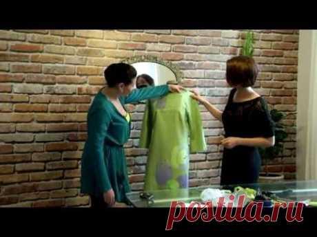 Как легко обновить платье. Мастер-класс по аппликации из шелковых лоскутков | Шить и творить с Марго-Миро | Яндекс Дзен