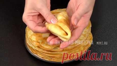 Никогда не пробовала НАСТОЛЬКО вкусных блинчиков! Тонкие картофельные БЛИНЫ