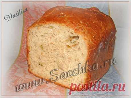Хлеб с 4-мя злаками и семенами тыквы