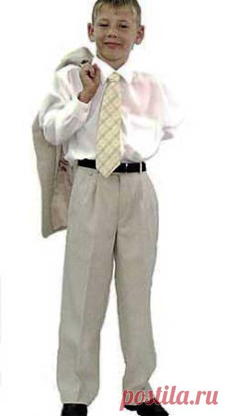 ШКОЛА ШИТЬЯ: Выкройка-основа брюк для мальчика от Анастасии Корфиати
