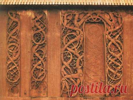 (+1) Ранние скандинавские церкви. К вопросу о том, как выглядели языческие храмы.